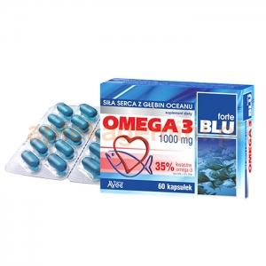 AVEC PHARMA Omega-3 Blu Forte 1000mg, 60 kapsułek
