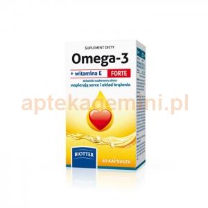 DIAGNOSIS Omega-3 Forte + witamina E, 60 kapsułek