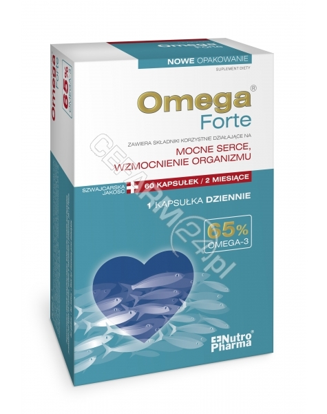 HOLBEX Omega forte 65% omega-3 nutropharma x 60 kaps