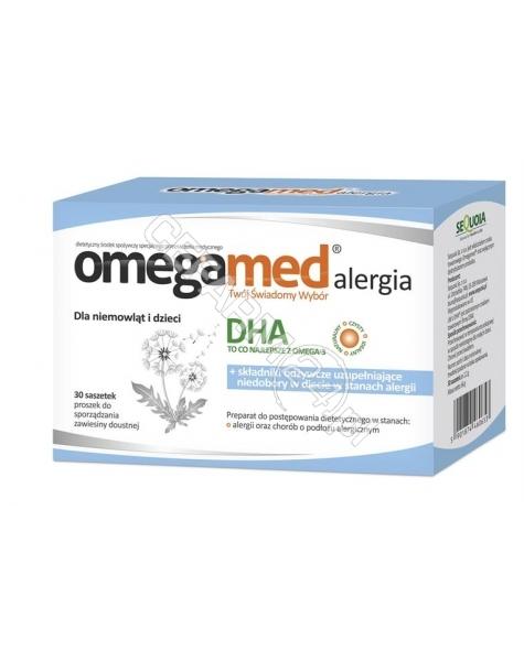 SEQUOIA Omegamed alergia dla niemowląt i dzieci x 30 sasz