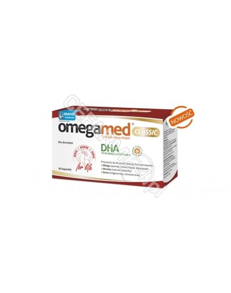SEQUOIA Omegamed classic dla dorosłych x 30 kaps