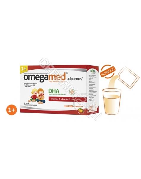 SEQUOIA Omegamed odporność dla dzieci 1+ x 30 sasz