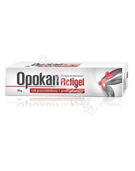 AFLOFARM Opokan Actigel 100 mg/g żel 50 g