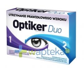 AFLOFARM FABRYKA LEKÓW SP.Z O.O. Optiker Duo 30 tabletek