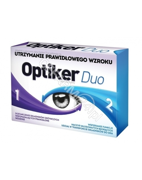 AFLOFARM Optiker duo x 30 tabl
