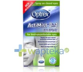 RECKITT BENCKISER (POLAND) S.A. OPTREX ACTMIST spray 2 w 1 do zmęczonych oczu 10 ml