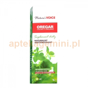 NATURES VOICE Oregar olejek z oregano 30ml
