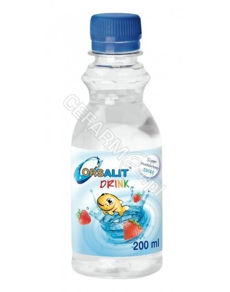 BIOMED KRAKÓW Orsalit Drink o smaku truskawkowym 200 ml