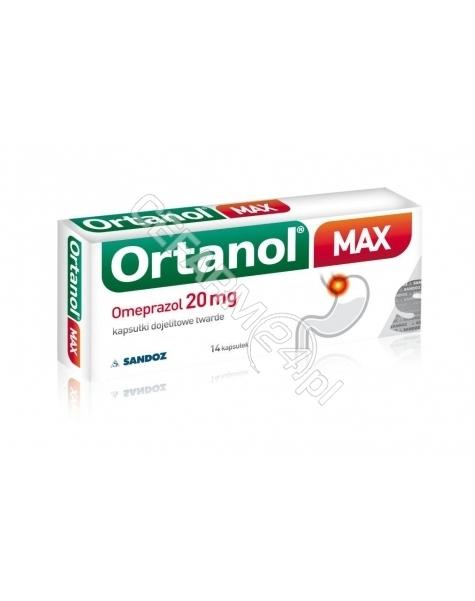 SANDOZ Ortanol max 20 mg x 14 kaps dojelitowych