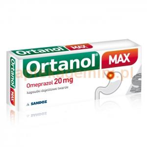 SANDOZ Ortanol Max 20mg, 14 kapsułek