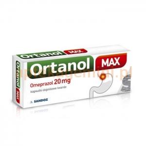 SANDOZ Ortanol Max 20mg, 7 kapsułek OKAZJA