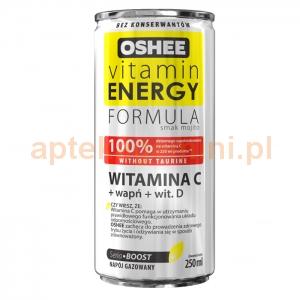 OSHEE OSHEE, Vitamin Energy Formula, Witamina C, 250ml OKAZJA