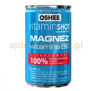 OSHEE OSHEE, Vitamin shot, Magnez, 150ml
