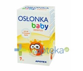 APOTEX NEDERLAND BV Osłonka Baby od 3-mca krople 7 ml