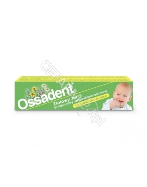 SIROSCAN Ossadent żel 20 g + Babyono żelowy gryzak chłodzący GRATIS !!!
