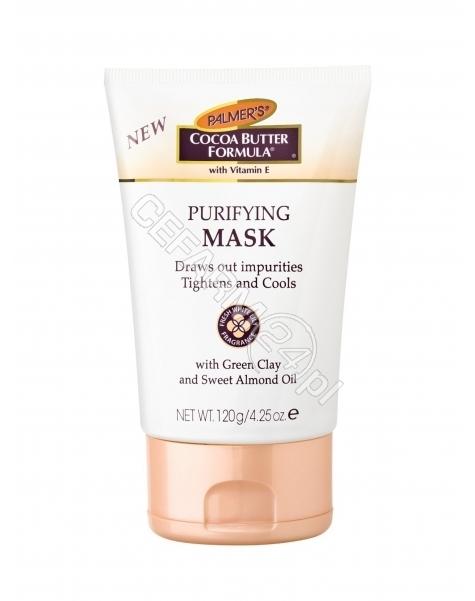 PALMERS Palmers Cocoa Butter Formula - maska oczyszczająca do twarzy 120 g