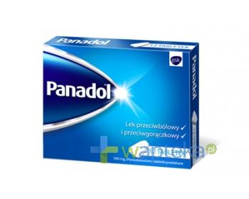 GLAXOSMITHKLINE CONSUMER HEALTHCARE SP. Z O.O. Panadol 0,5 g 12 tabletek