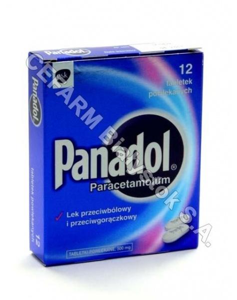 SMITHKLINE B Panadol 500 mg x 12 tabl powlekanych