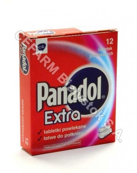SMITHKLINE B Panadol extra x 12 tabl powlekanych