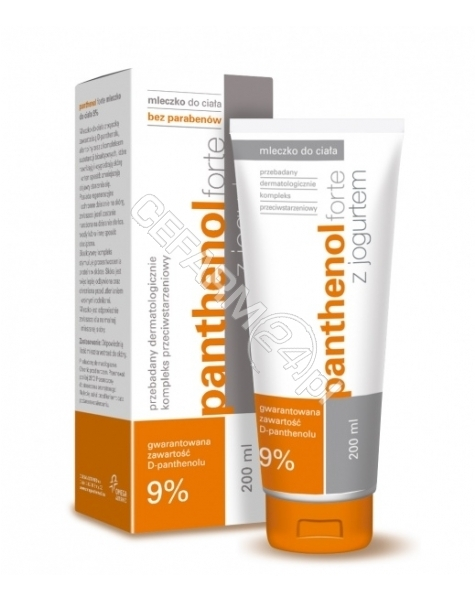 ALTERMED Panthenol forte 9% mleczko z jogurtem 200 ml