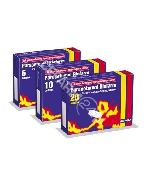 BIOFARM Paracetamol 500 mg x 20 tabl (biofarm)