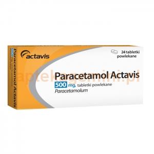ACTAVIS Paracetamol 500mg, 24 tabletki