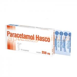 HASCO-LEK Paracetamol Hasco 250mg, czopki, 10 sztuk
