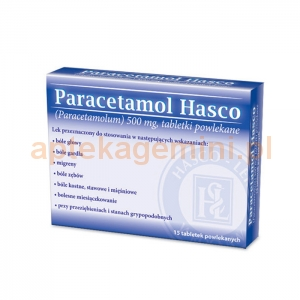 HASCO-LEK Paracetamol Hasco 500mg, 15 tabletek