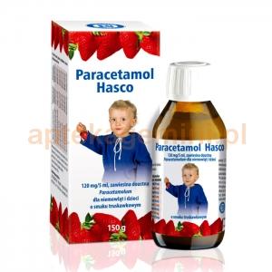HASCO-LEK Paracetamol Hasco, zawiesina doustna, dla dzieci i niemowląt od urodzenia, 120mg/5ml, 150g