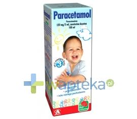 AFLOFARM FARMACJA POLSKA SP. Z O.O. Paracetamol zawiesina 100 ml AFLOFARM