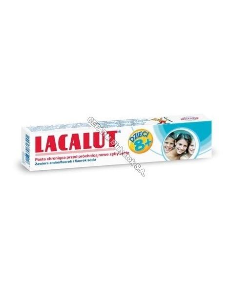 NP PHARMA Pasta do zębów lacalut dla dzieci powyżej 8 lat 50 g