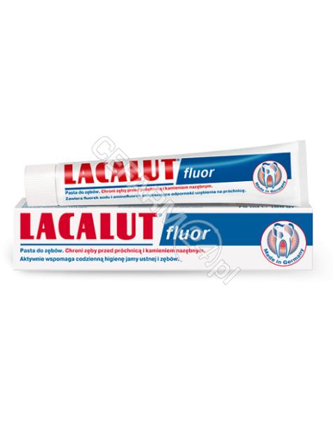 NP PHARMA Pasta do zębów lacalut fluor 75 ml
