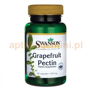 SWANSON Pektyny grapefruita 200mg, SWANSON, 90 kapsułek