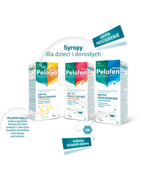PHYTOPHARM KLEKA S.A. Pelafen kid 3+ syrop 100 ml