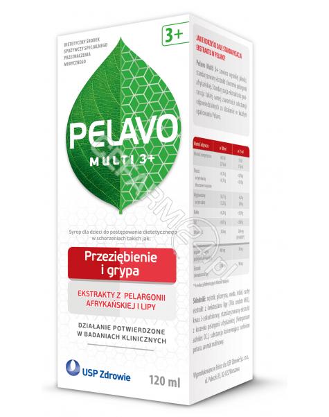 USP ZDROWIE Pelavo Multi 3+ przeziębienie i grypa 120 ml