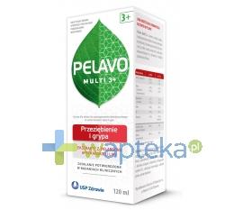 USP ZDROWIE SP. Z O.O Pelavo Multi 3+ przeziębienie i grypa 120ml