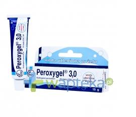 GEMI P.P.F. Peroxygel 3% żel 15 g