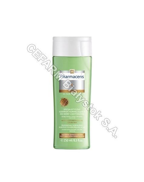 DR IRENA ERIS Pharmaceris H - sebopurin specjalistyczny szampon normalizujący do skóry łojotokowej 250 ml