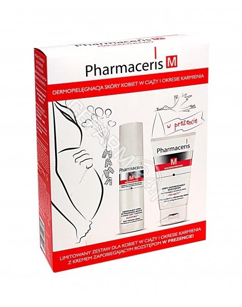 ERIS Pharmaceris M zestaw - Bustfirm ujędrniający krem do biustu 100 ml + Foliacti krem zapobiegający rozstępom 150 ml GRATIS !!!