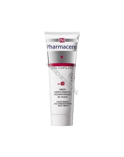 DR IRENA ERIS Pharmaceris N vita capilaril krem nawilżająco-wzmacniający do twarzy 50 ml