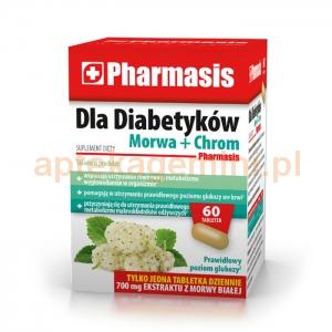 EKSPRES APTECZNY Pharmasis Dla Diabetyków, 60 tabletek