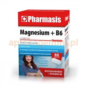 EKSPRES APTECZNY Pharmasis Magnesium + B6, 60 tabletek