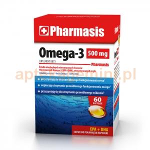 EKSPRES APTECZNY Pharmasis Omega-3 500mg, 60 kapsułek