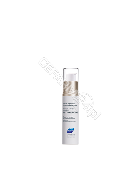 PHYTO Phyto phytokeratine - serum odbudowujące, regenerujące końcówki, włosy uszkodzone i osłabione 30 ml