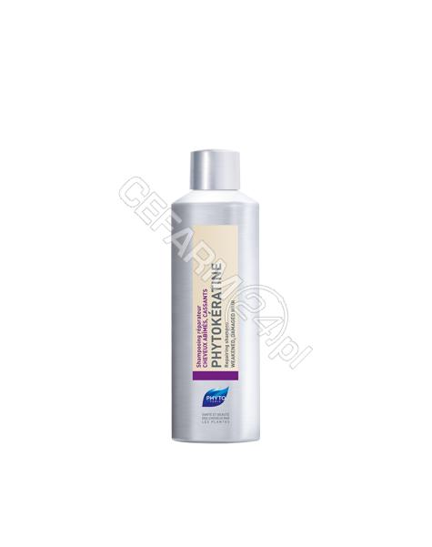 PHYTO Phyto phytokeratine - szampon odbudowujący, włosy uszkodzone i osłabione 200 ml