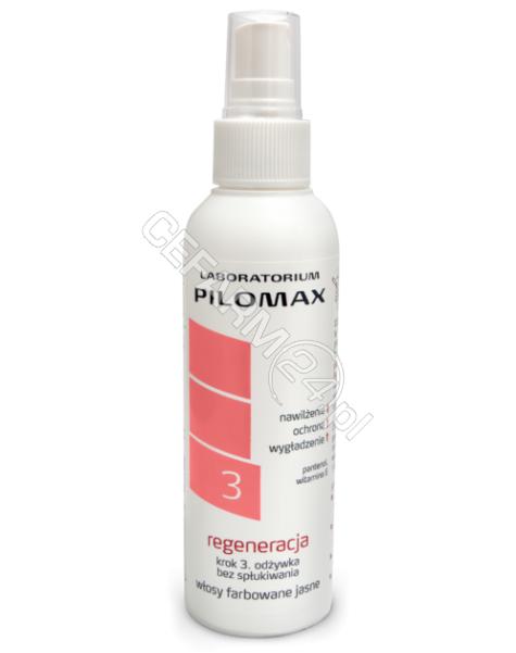 PILOMAX JOLANTA BORTKIEWICZ Pilomax regeneracja krok 3 odżywka do włosów farbowanych jasnych 150 ml