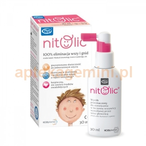 ICB PHARMA PIPI Nitolic, spray na wszy, 30ml