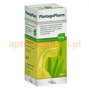 PHYTOPHARM KLĘKA PlantagoPharm, syrop, 200ml