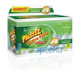 POLSKI LEK Plusssz Active Forte + Lecytyna 50 tabletek