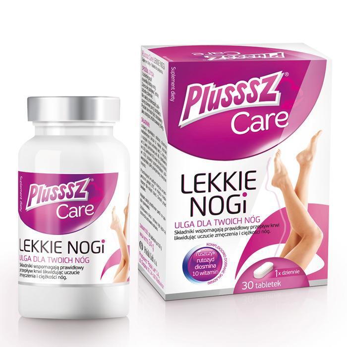 POLSKI LEK Plusssz Care, Lekkie Nogi, 30 tabletek